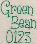 Green Bean Font