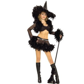 Hot Sultry Witch Halloween Costume Pictures
