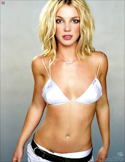 Sexy Hollywood Singer Britney Spears Bikini Wallpaper