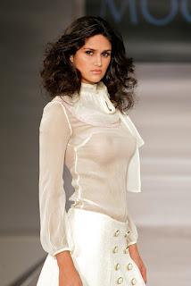 Leryn Franco Hot in Transparent Dress