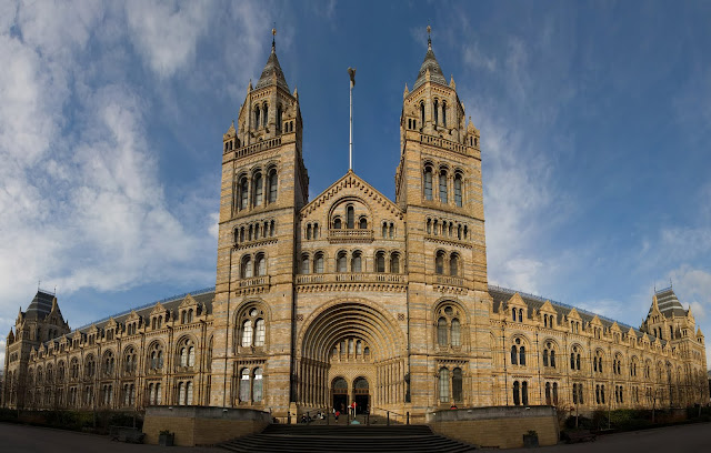 Natural History Museum Building Wallpaper