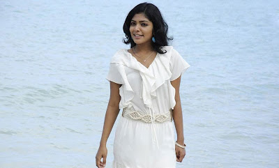 Rima kallingal Hot in White Dress