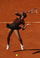 Venus Williams Hot Picture in Black Outfit