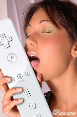 Jessica Chobot Licking Wiimote