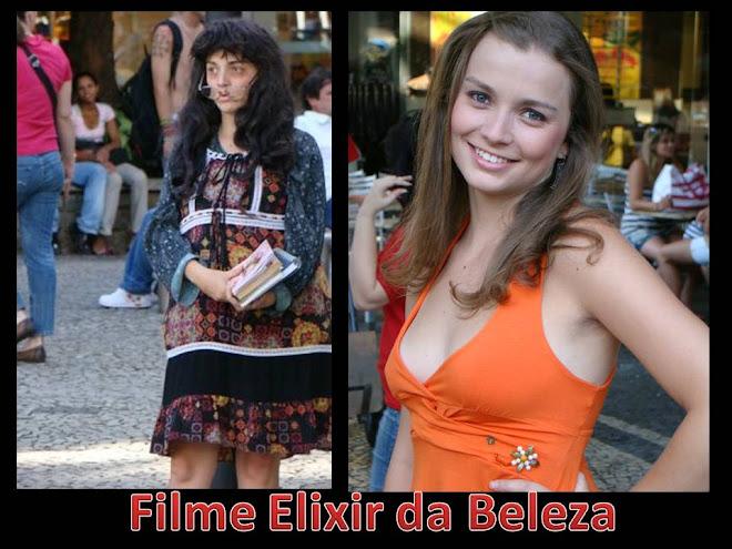 Bastidores da gravação do Filme Elixir da Beleza