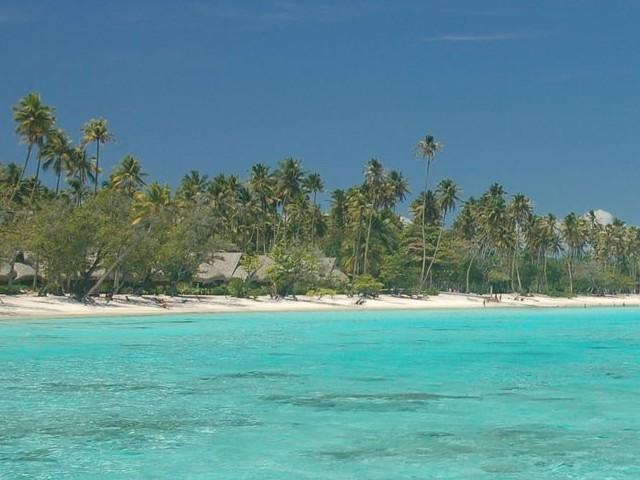Hotel Ia Ora sur la plage de Temae à Moorea