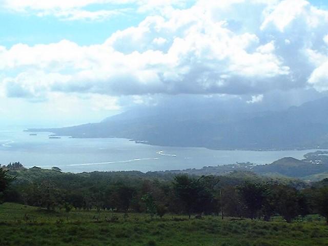 Panorama sur Tahiti depuis la Presqu'île