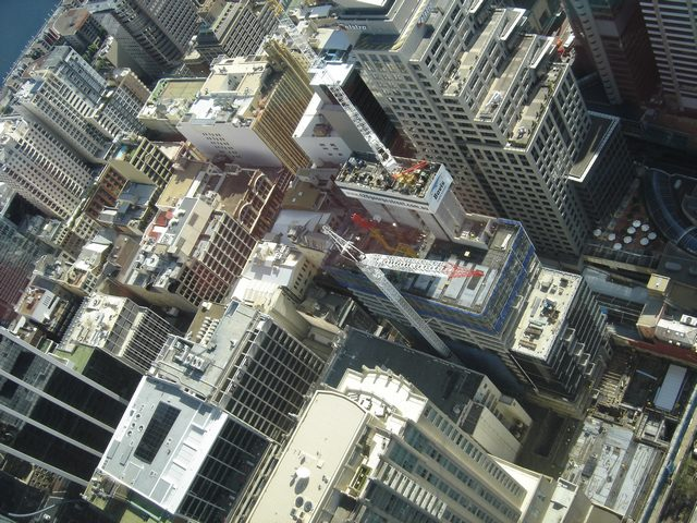 La City vue de Sydney Tower