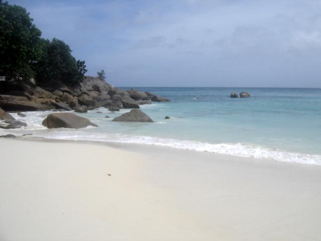 La plage de Anse Soleil Beachcomber Mahé