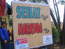 Sehat.......Yes,  Narkoba......No