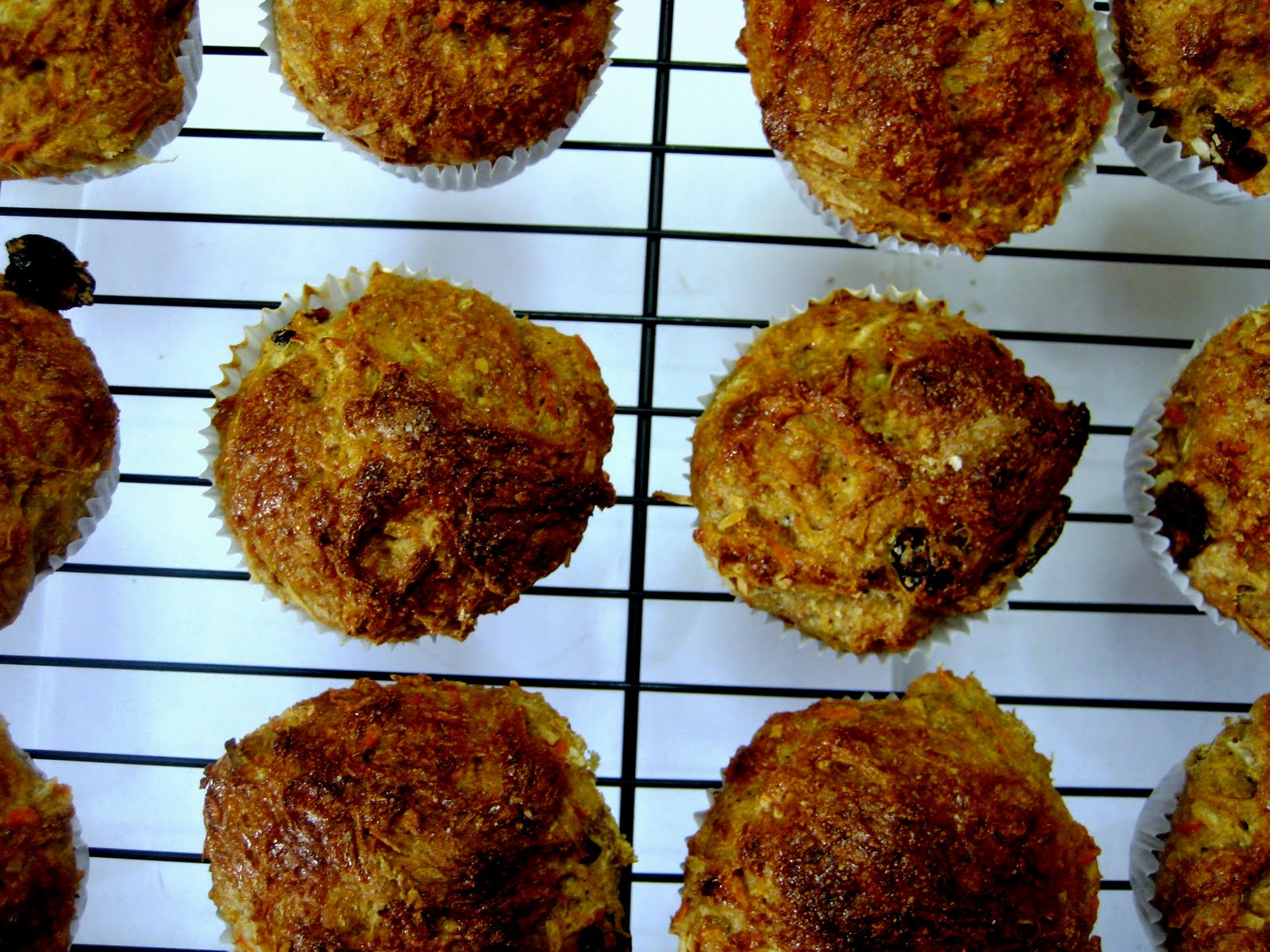 Carrot Cake Muffins and Sweet Potato and Blue Cheese on ...