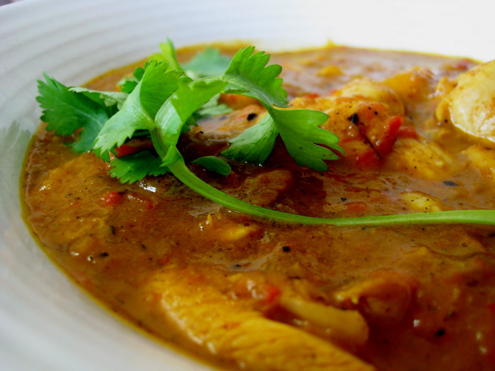 Mango Chicken Curry | Joanne Eats Well With Others