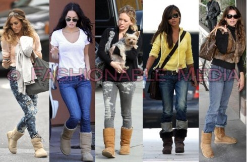 For Classic Cardy Ugg Boots me ugly and they make the legs appear longer than they are. Also for the health of the feet, it is not good style. Ugg