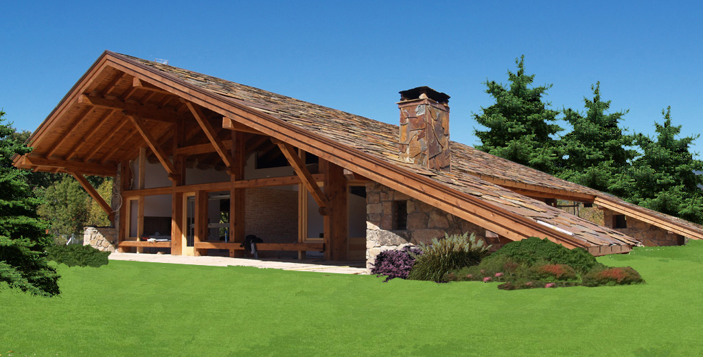Lousa nuevos dise os para cubiertas for Tejados de madera modernos