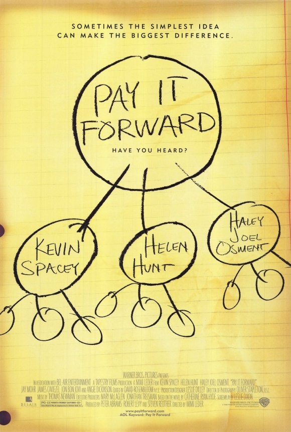 Pay It Forward …
