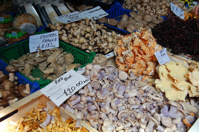 borough market mushies