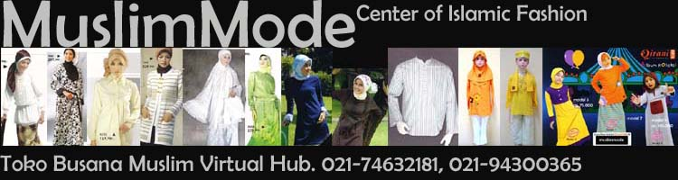Center of Islamic Mode , busana muslim, muslim clothing, Islamic fashion, baju muslim