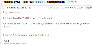 youthsays earnings payment