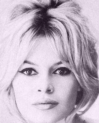 Look Two: Brigitte Bardot Inspired Hair/Makeup