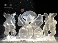 Ice Sculpture from Montclair First Night 2008