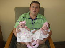 Daddy and His Twin Girls