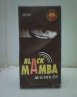 BLACK MAMBA OIL PEMBESAR PENIS & BESAR PANJANG MENAMBAH KEPUWASAN PADA WANITA New+black+mamba+oil
