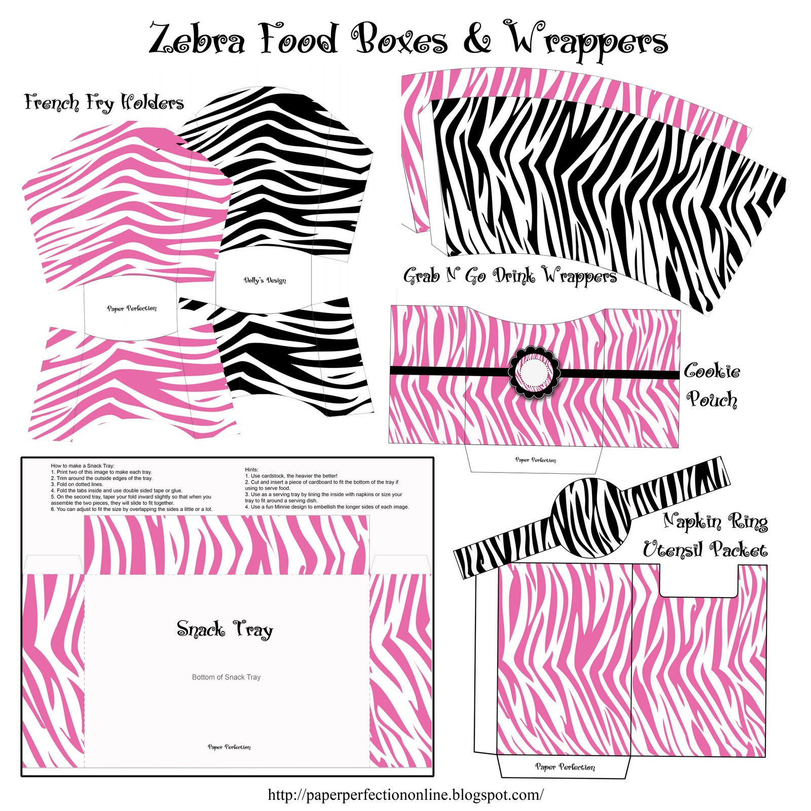 Zebra printable pictures