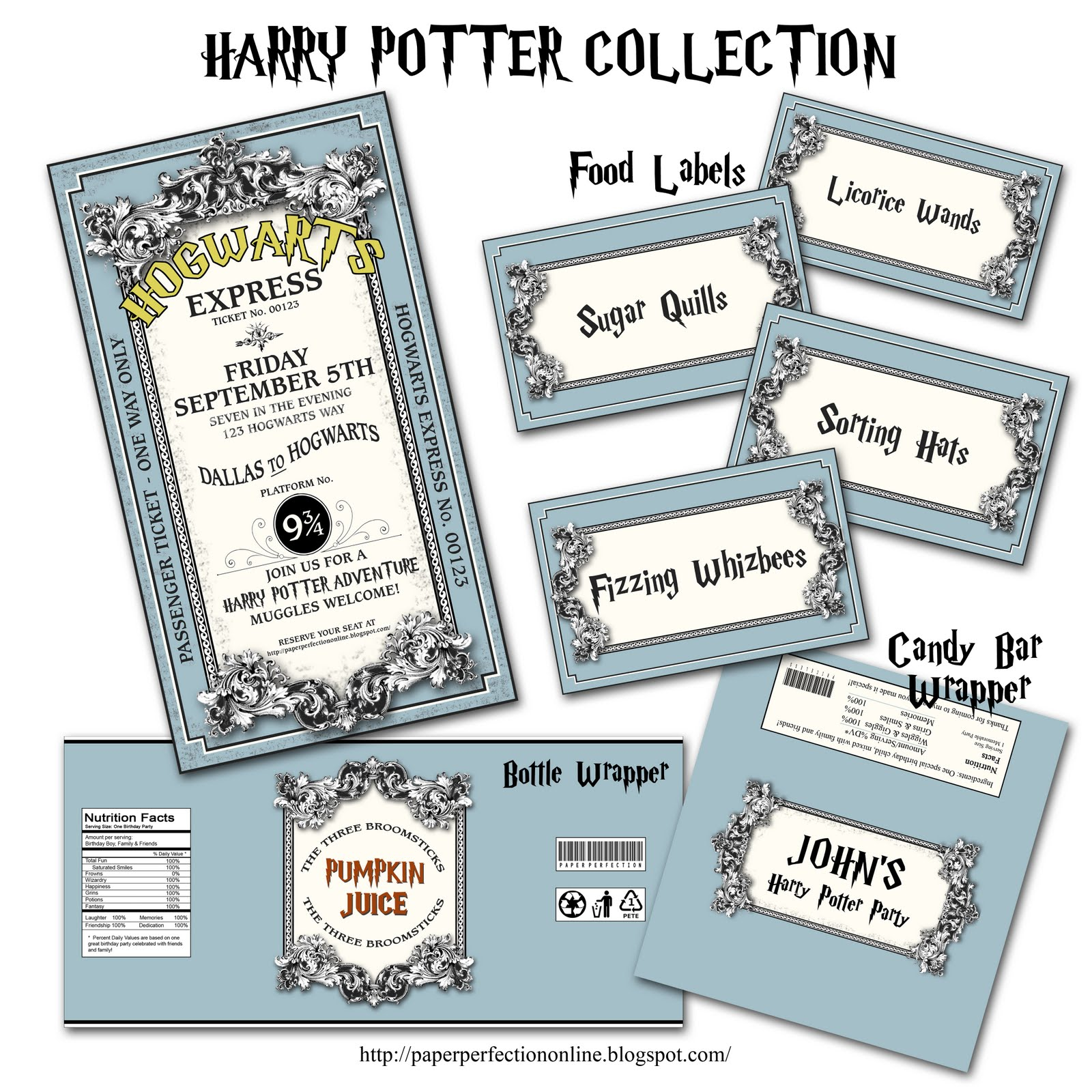 It's just a photo of Revered Harry Potter Print Outs