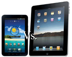 iPad 2 VS Galxy Tab 10.1