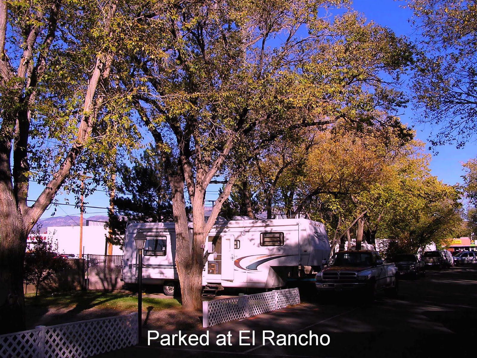 El Rancho Mobile Home Park Albuquerque NM Nov 1 Jan