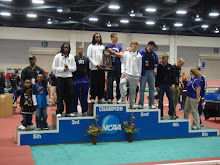 Men NCAA Indoor 3rd place finish