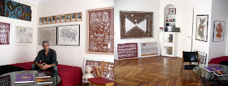 herve perdriolle galerie en appartement paris