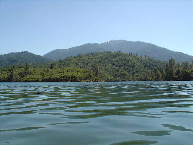 Whiskeytown lake in Shasta county, California.