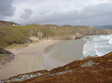 Ceannabeinne Bay, Scotland's N coast
