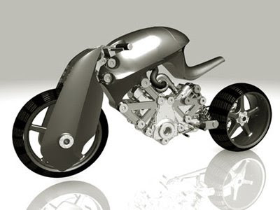 MOTORCYCLE FUTURISTIC CONCEPT