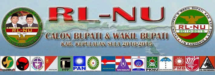 RL-NU CALON BUPATI KEP. SULA 2010-2015