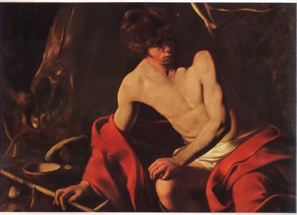 Caravaggio's Corner: San Giovanni Battista