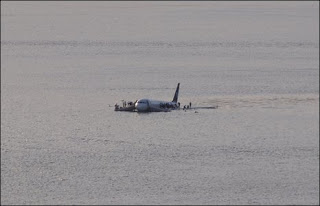 us airways flight 1549. crash on the hudson river. photo by gregorylam