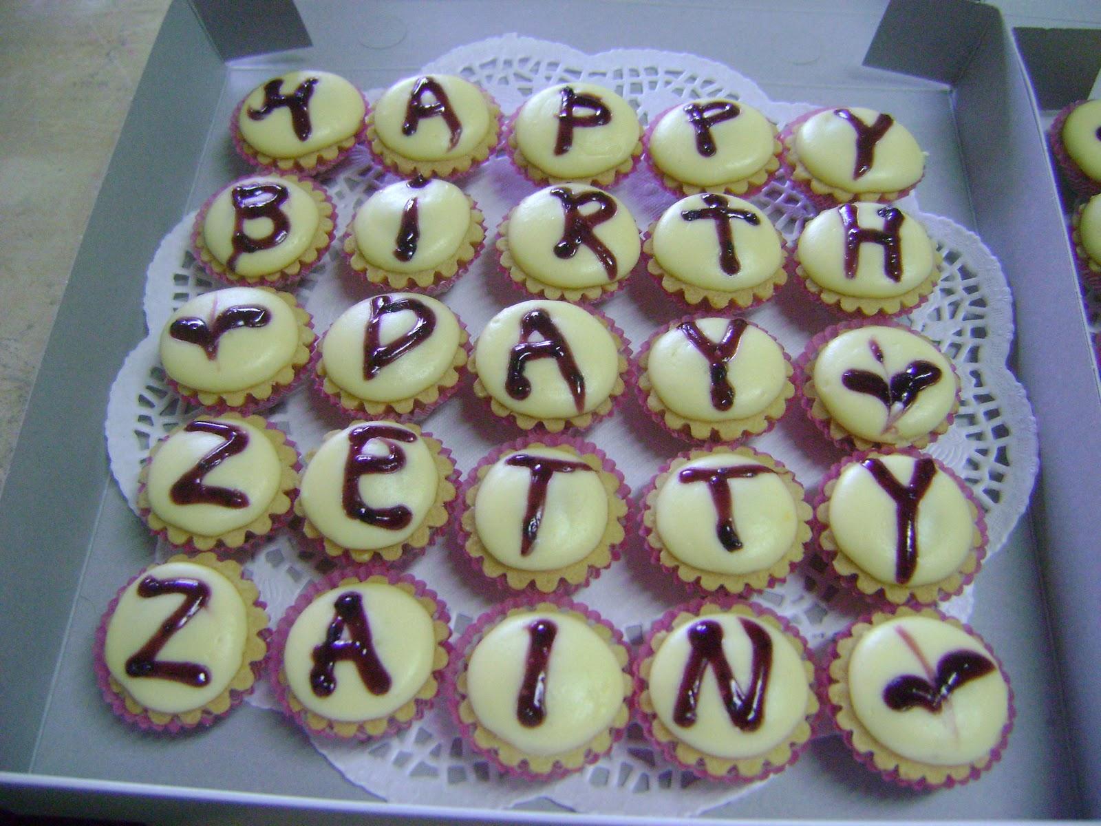 IreneBakeLove Happy birthday to Zetty Zain