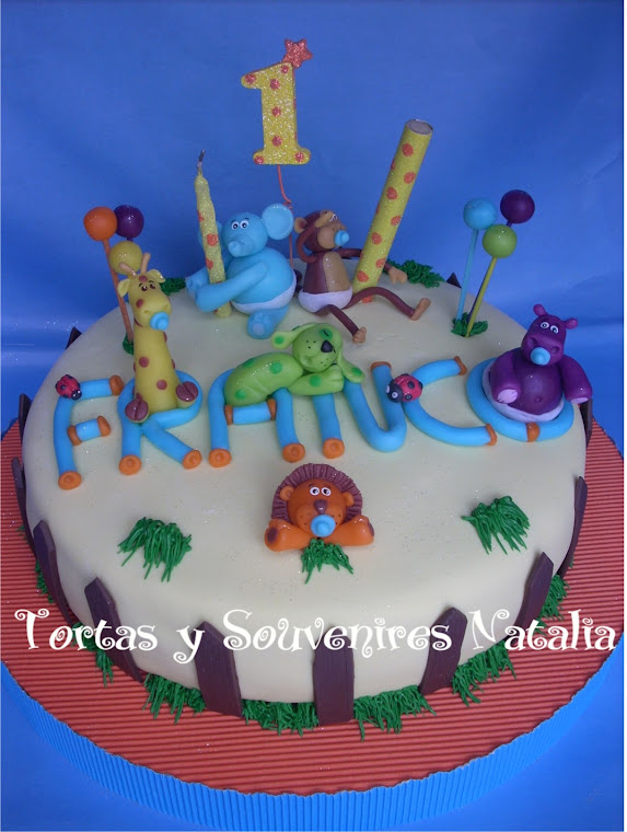 TORTA ANIMALITOS