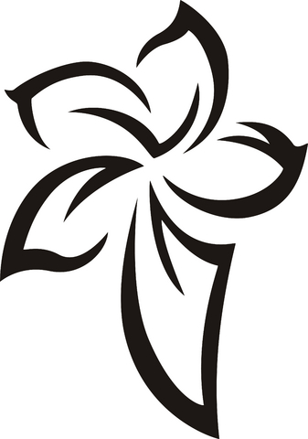Tribal Flower Tattoos ,Flower Tattoo Designs,,tattoos