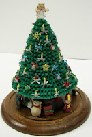 Quilling With Whimsiquills Pat S Quilled 3d Christmas Tree Pattern