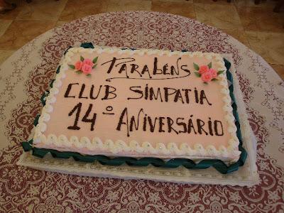 14º aniversário do Clube da Simpatia