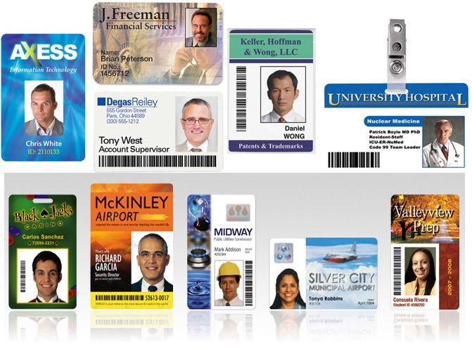 MENYEDIAKAN BAHAN  ID CARD PVC