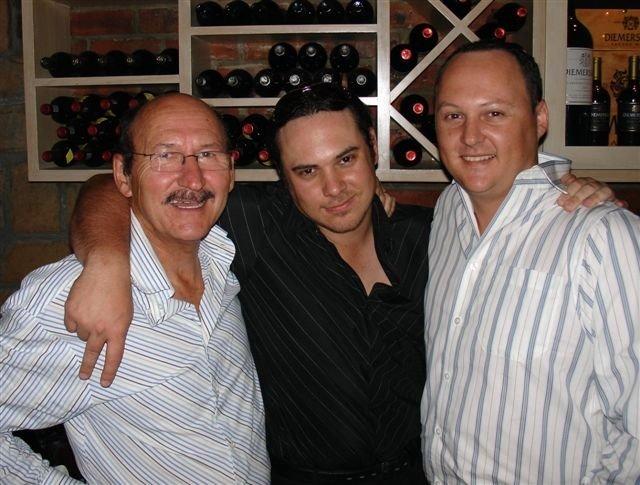 Pyppies, Gerhard en Andre
