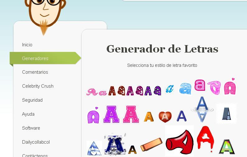 Generador de texto e imagenes taringa for Generador de logos