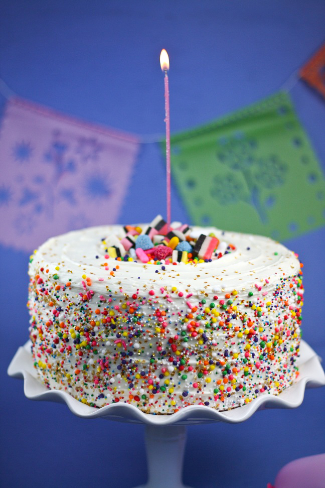 Happy birthday sprinkle bakes and a present for you