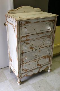 Just Ruminating Distressed Furniture Refinishing