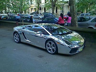 Car Clash Lamborghini Gallardo Maida Vale London Uk