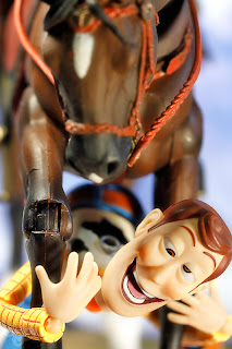 Nuevas fotos extrañas Woody toy story